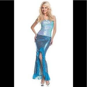 Sequin Mermaid Costume